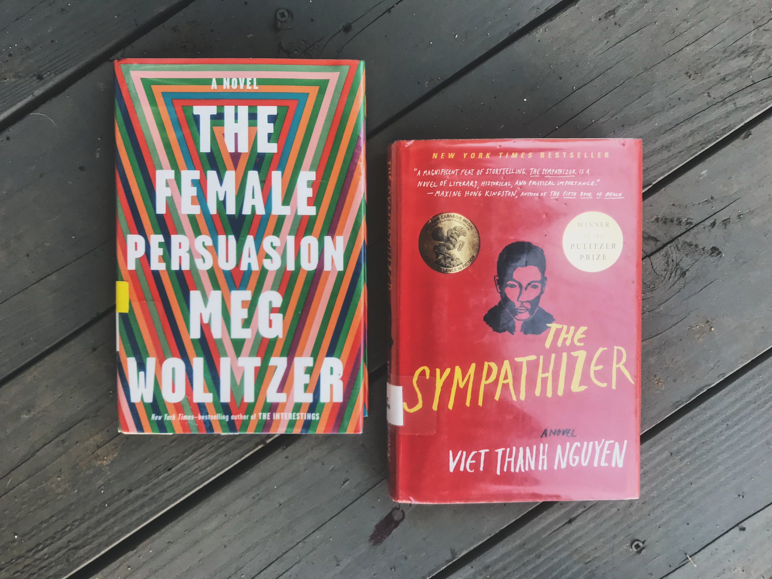 #87 The Female Persuasion + The Sympathizer.JPG