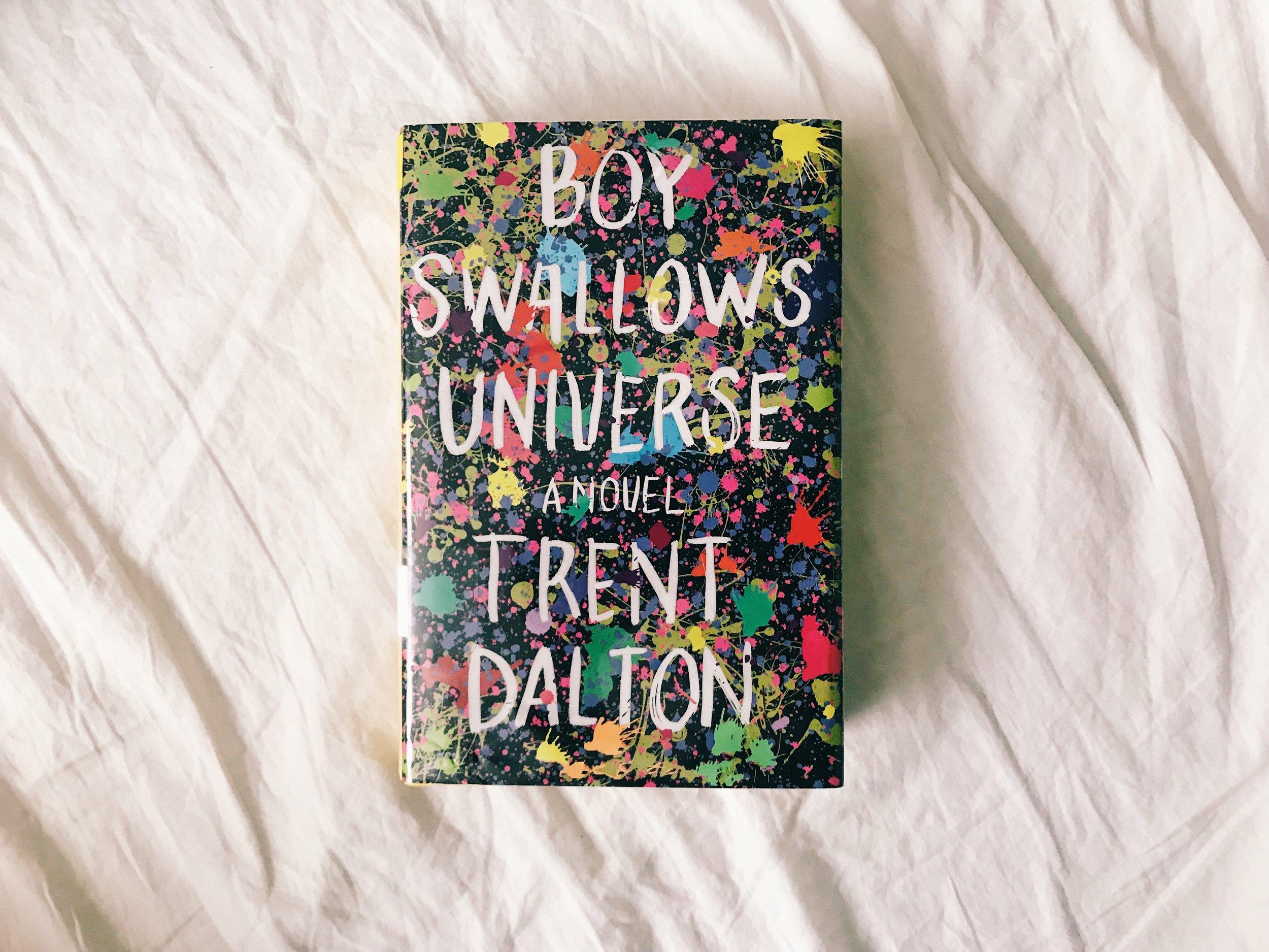 #183 Boy Swallows Universe.JPG
