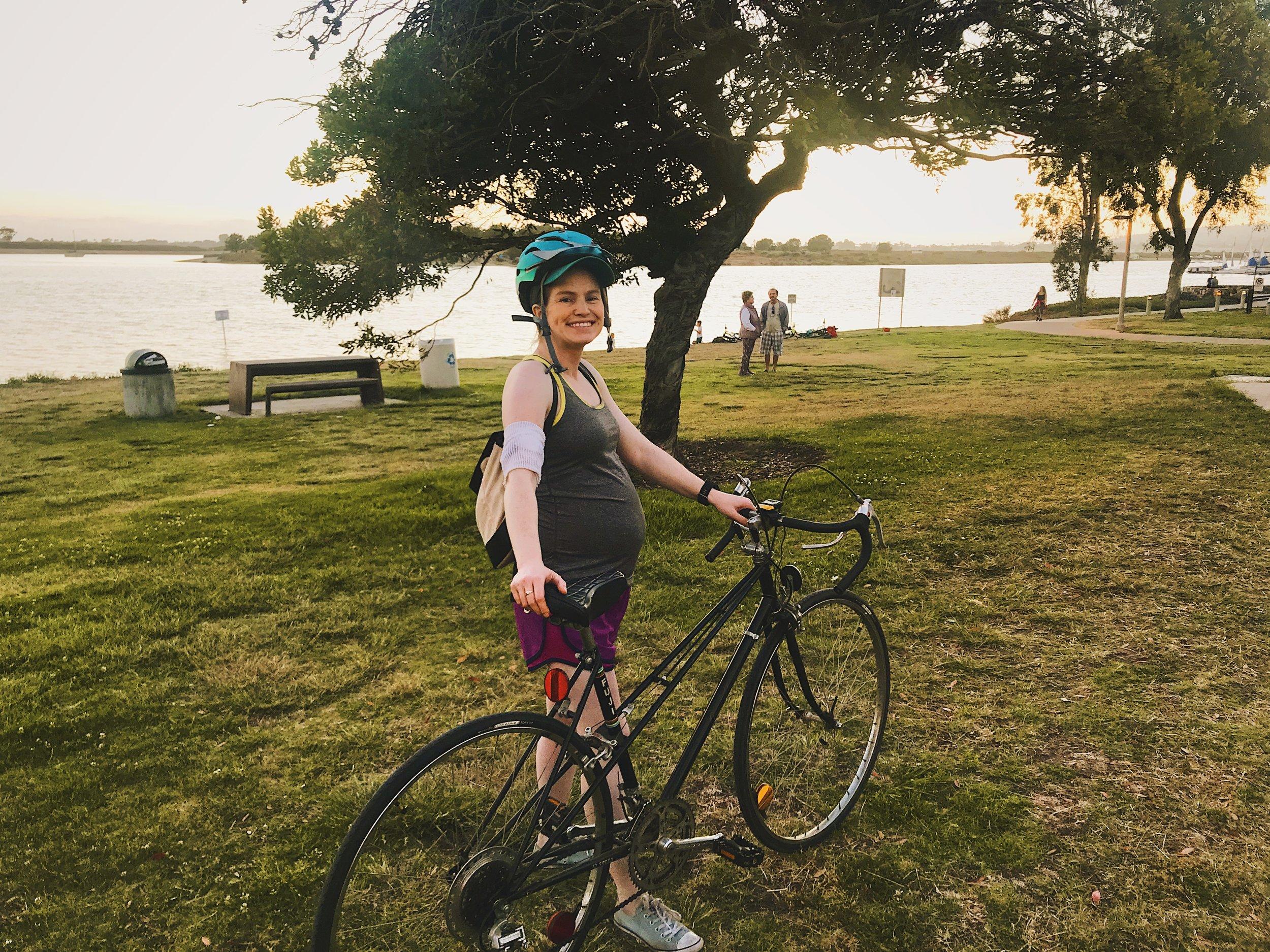 247 Baby Bump Bike Ride.JPG