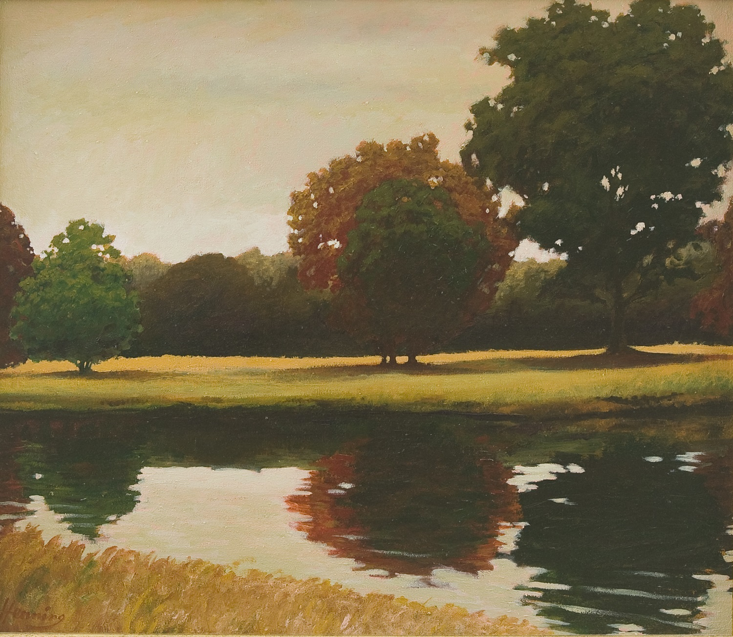 """Otter Tail River Scene"" by Stephen Henning There are a limited number of giclee reproductions of this available."