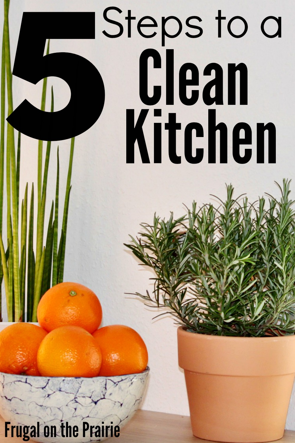 Feel like you're constantly doing dishes? Follow these 5 easy steps for the fastest way to clean your kitchen!