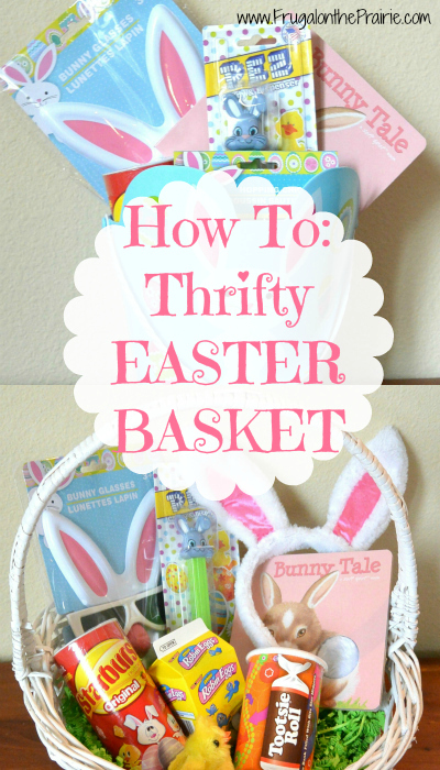 Looking for a DIY Easter Basket? This is one of the best ways to make your holiday memorable without going broke!
