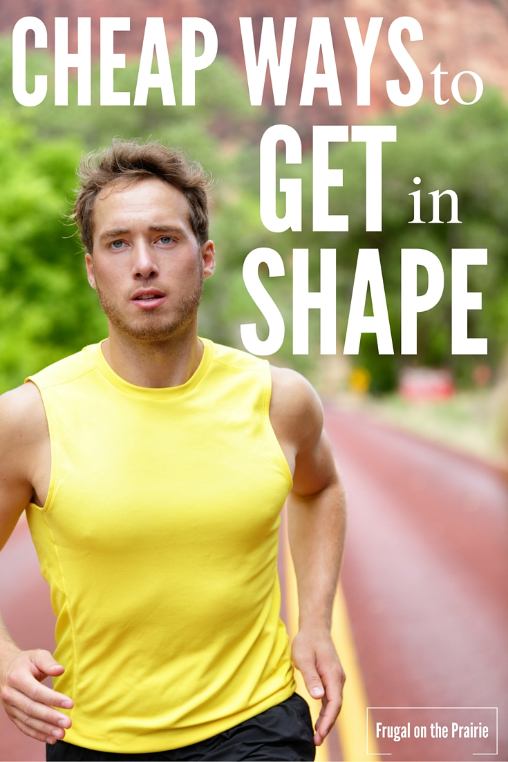 Here are some of the best cheap ways to get in shape. There is always a creative way to save money and exercise at the same time.