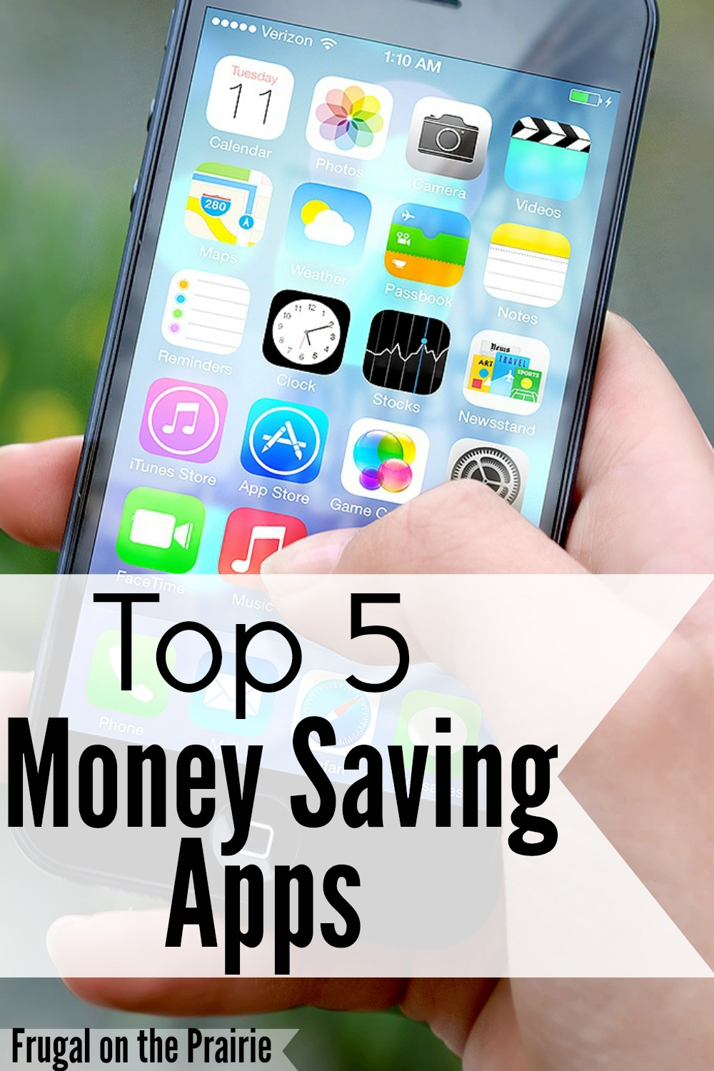 I love saving money so much that I almost won't buy an item if it doesn't have a coupon. I hate paying full price! Check out my top 5 money saving apps!