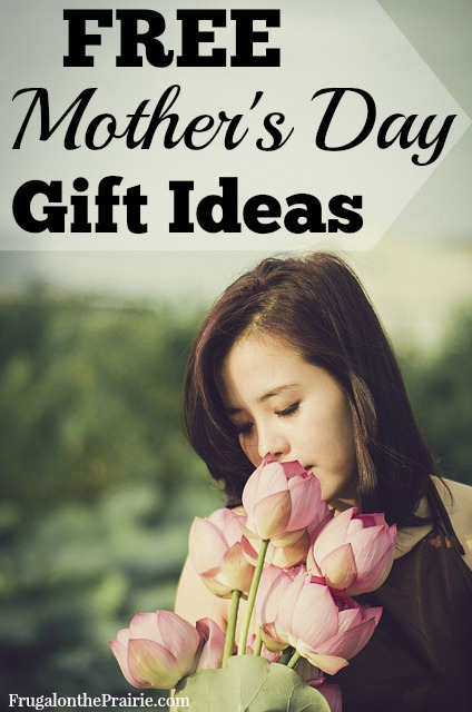 Check out these free Mother's Day gift ideas! Mom will love a gift that makes her heart melt and keeps your bank account happy too!