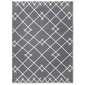 target gray rug