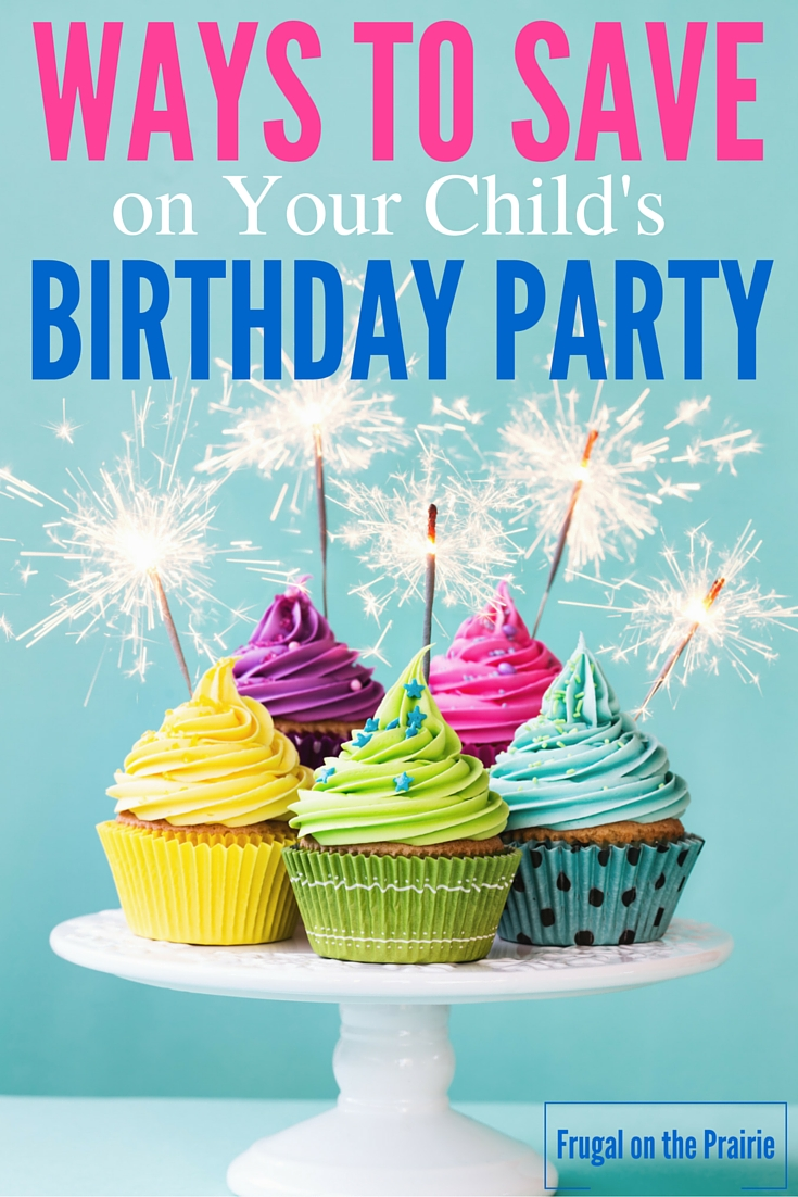 Looking for ways to save on birthday parties? Here are the best ways to make their special day both fun and affordable.