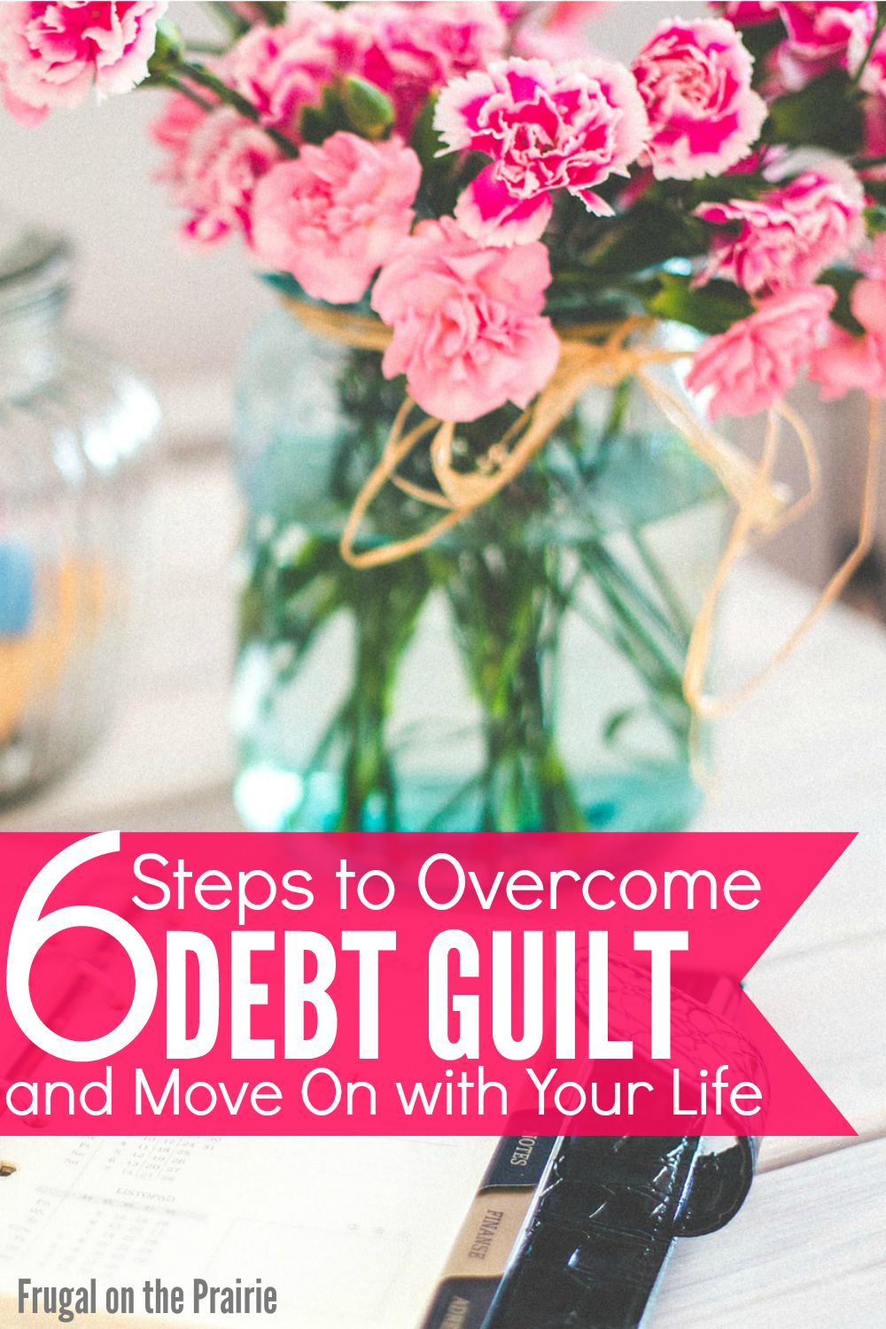 How do you overcome debt guilt and move on with your life? Follow these 6 easy steps to accept the problem and take control of your finances.