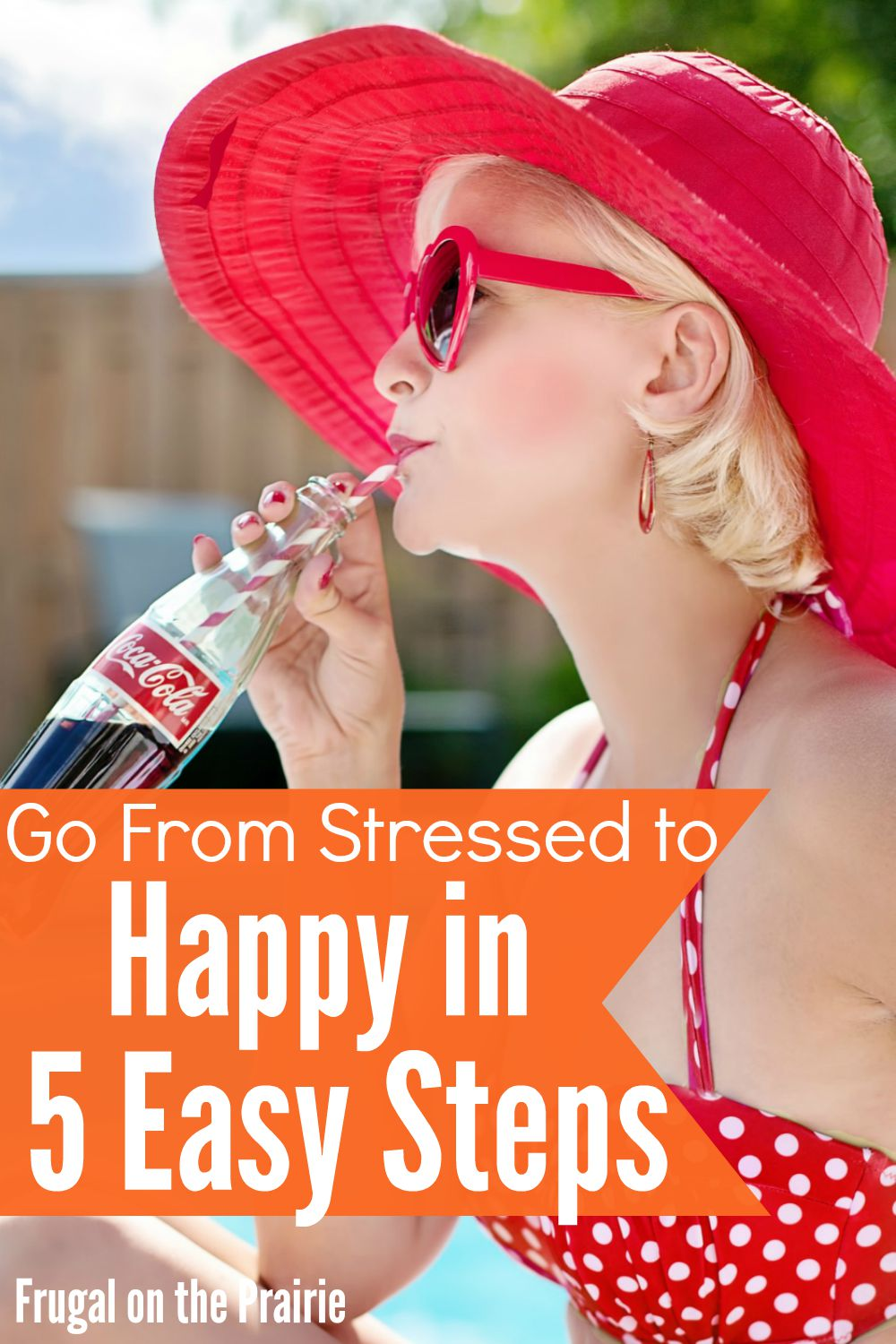 Feeling stressed and overwhelmed but need to get things done? Go from frazzled to happy in these 5 easy steps so you can accomplish your to-do list!
