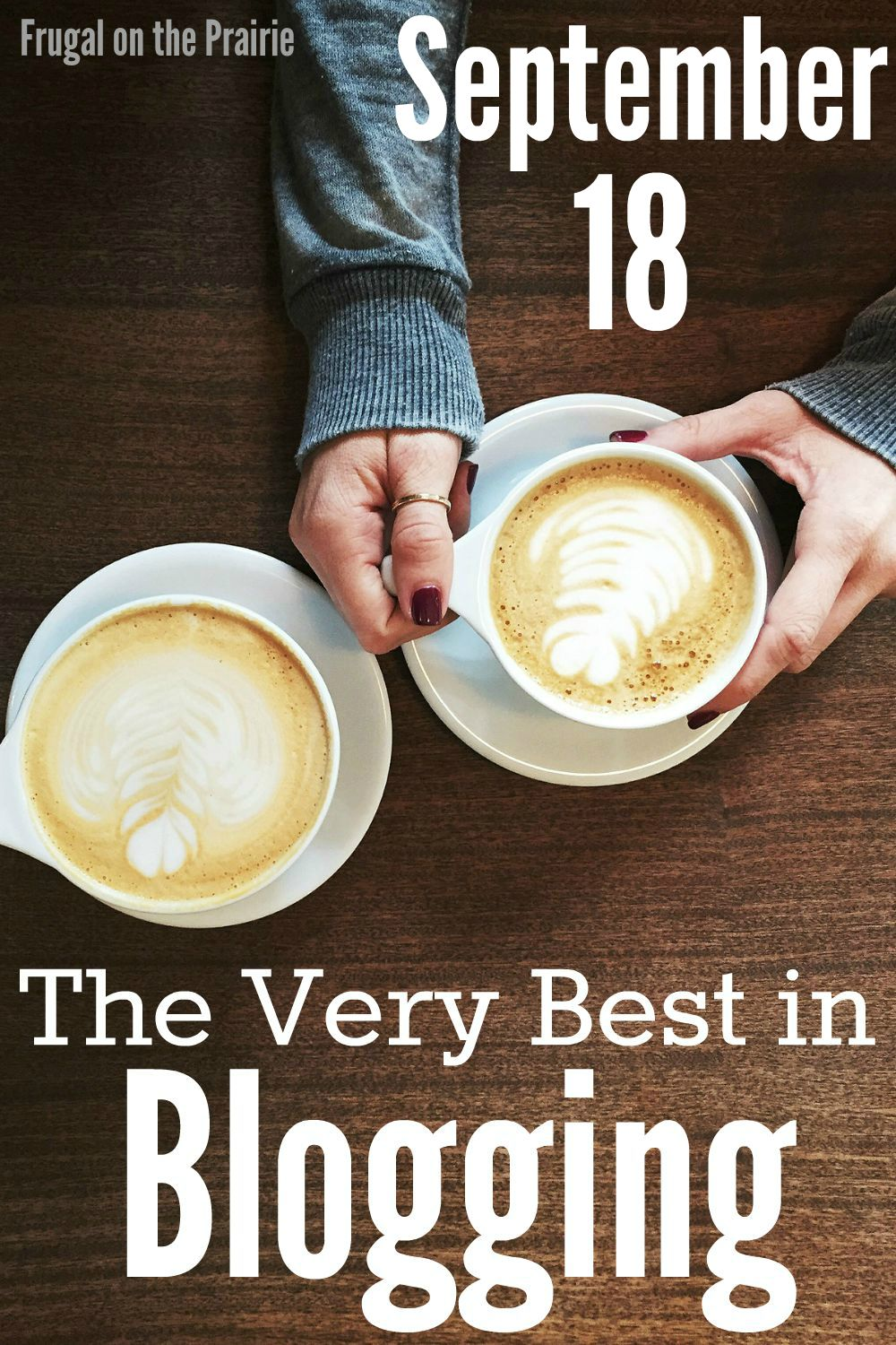 Looking for the best blogging posts? I do a roundup of the most inspiring content from around the web every week.