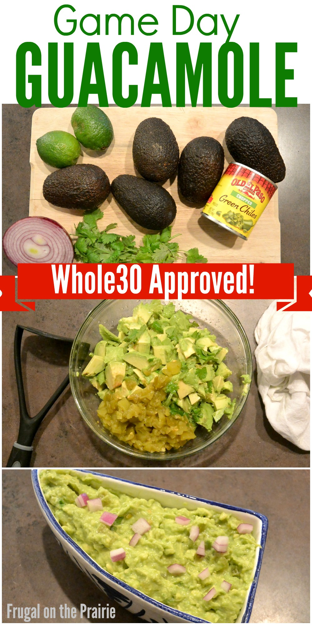 Ready for Game Day while you're on the Whole30? Keep things yummy and compliant by whipping up this easy, one-step guacamole!