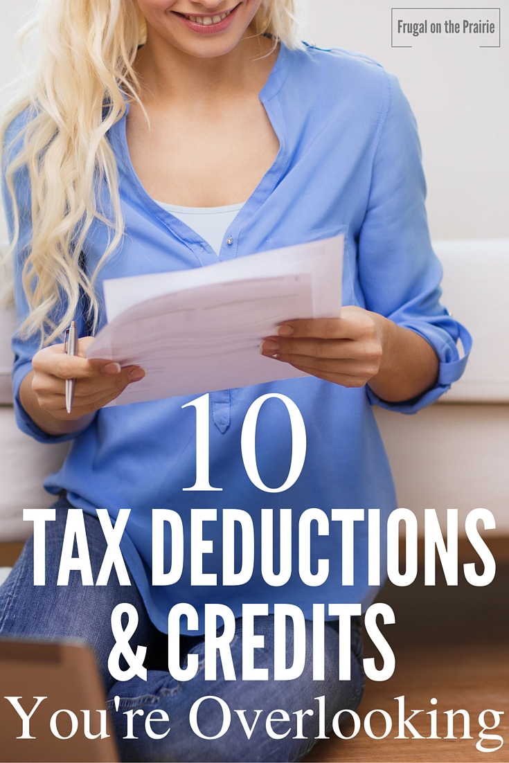 Hate wondering if you've missed tax deductions or credits? To help you out, I've put together a list of the ones that are most commonly overlooked.