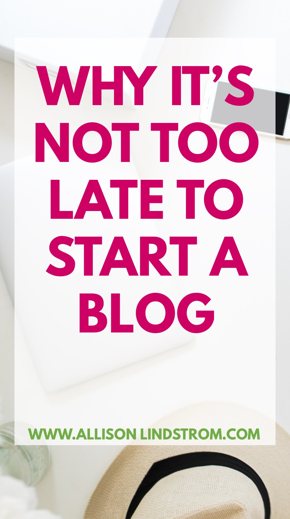 Starting a blog today doesn't mean you're too late to the party to make money online! With the right strategies, you can create a blog and eventually grow it into a profitable blogging business. Check out my favorite reasons why we absolutely need your fresh voice in our online communities!