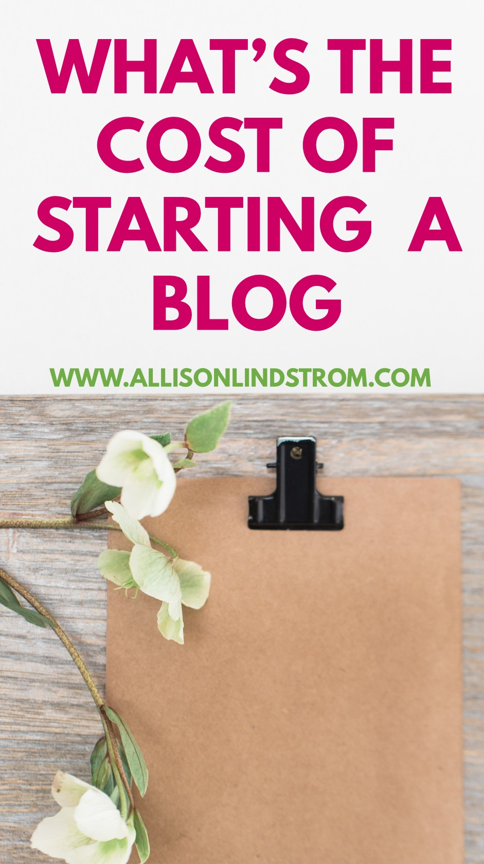 Got your dreams set on starting a blog but worried about how much it's going to cost? There are a lot of things that you can DIY or even put off until a later date, when you're more established. Here are what I consider to be the most important costs involved to create a blog. ||| STARTING A BLOG | HOW MUCH MONEY DOES IT TAKE?