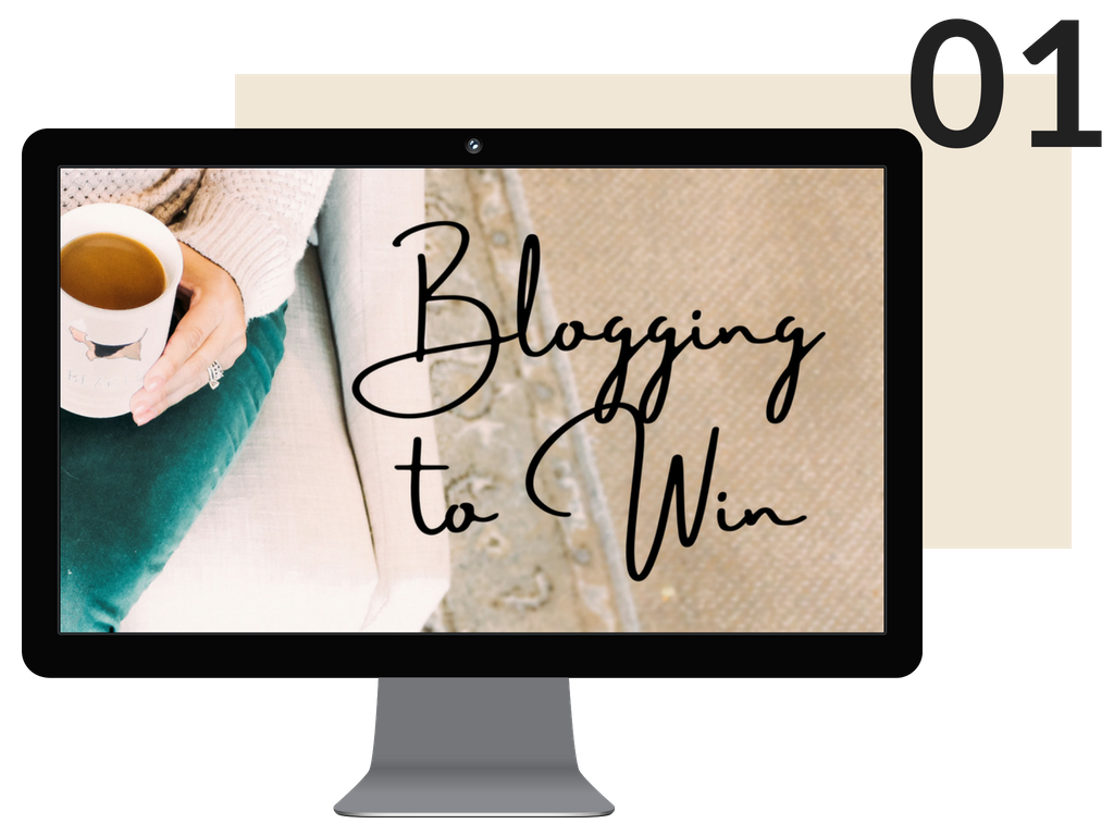 My Blogging to Win course is an online eight-part course that will teach you to build a blogging business (not a hobby. Oh, so not a hobby) using the most effective strategies deployed by today's most successful bloggers.