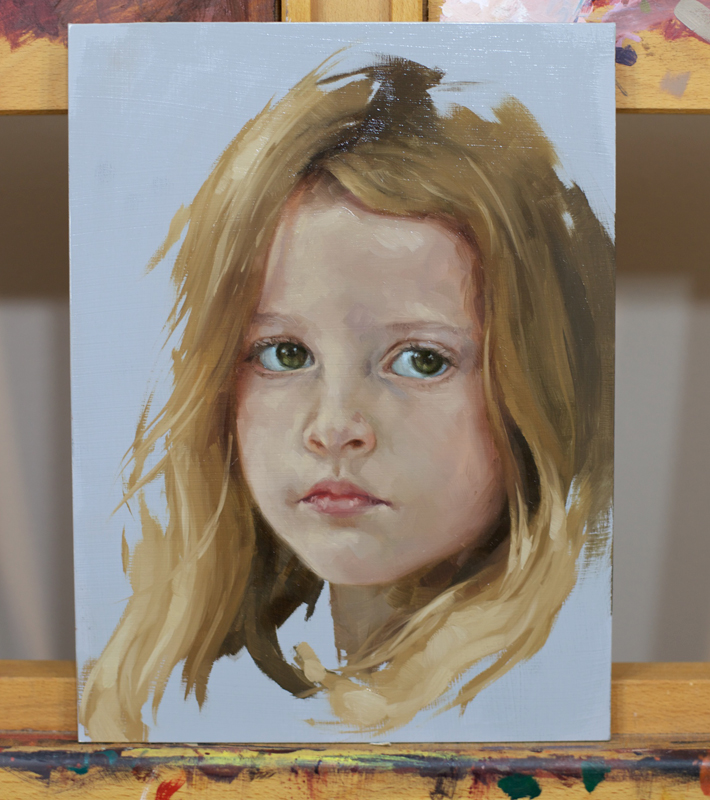 """portrait of Daisy"""