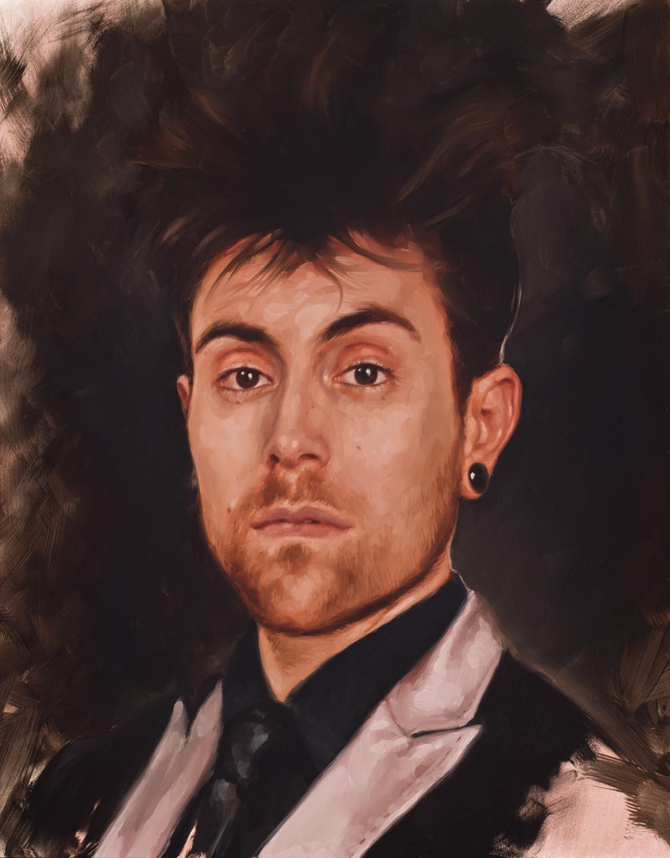 """portrait study, """"Davey"""""""
