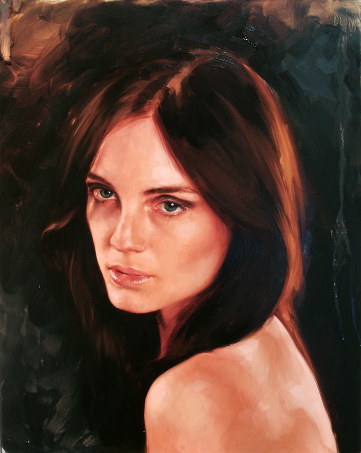 "portrait study, ""Brittany"""