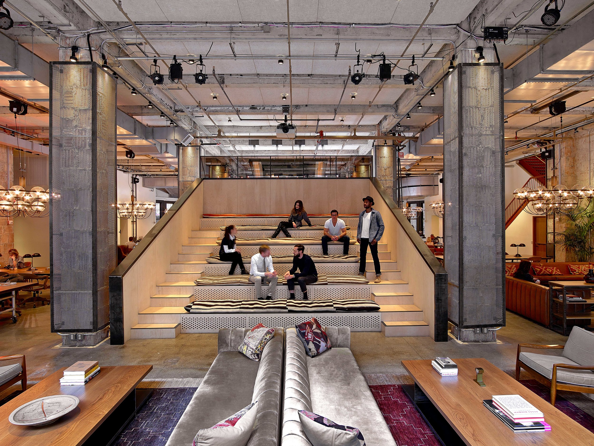 Neuehouse NY with the Rockwell Group, photo by Eric Laignel