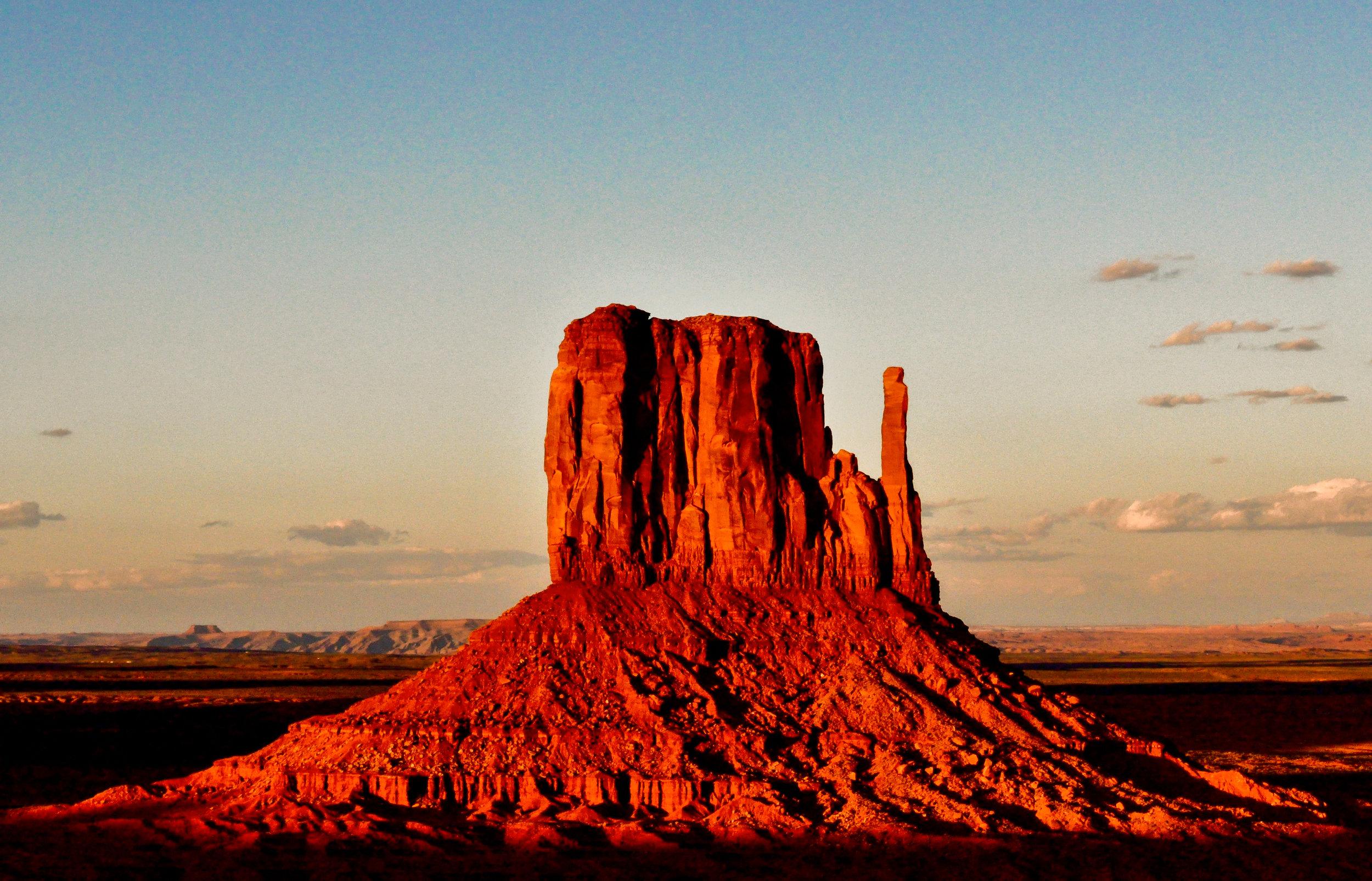 Left Mitten, Monument Valley, UT