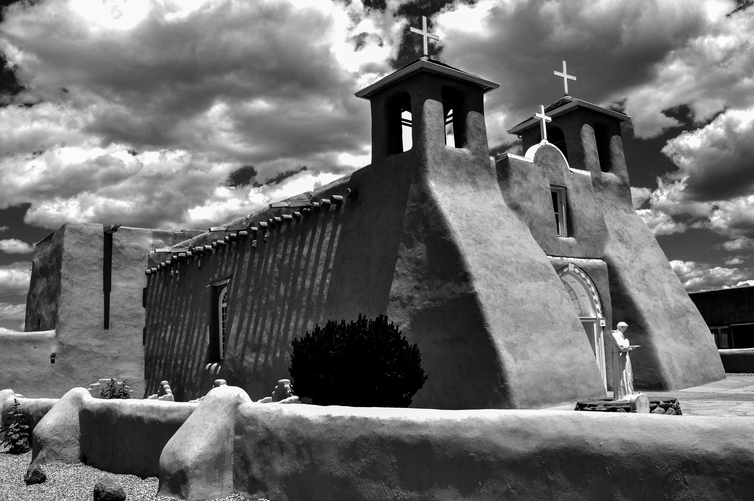Saint Francis Church, Ranchos de Taos, NM