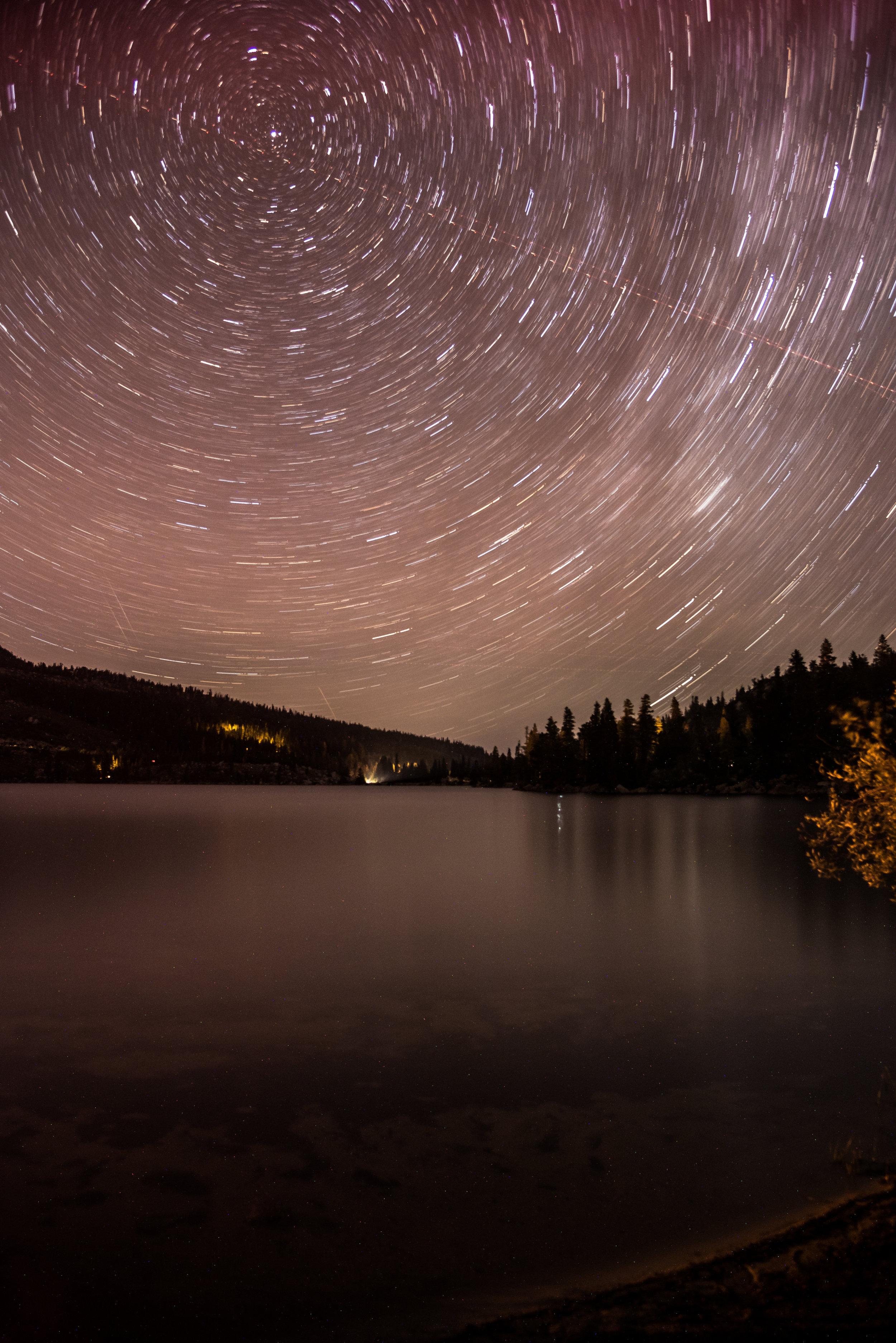 Rock Creek Lake, Eastern Sierras, CA