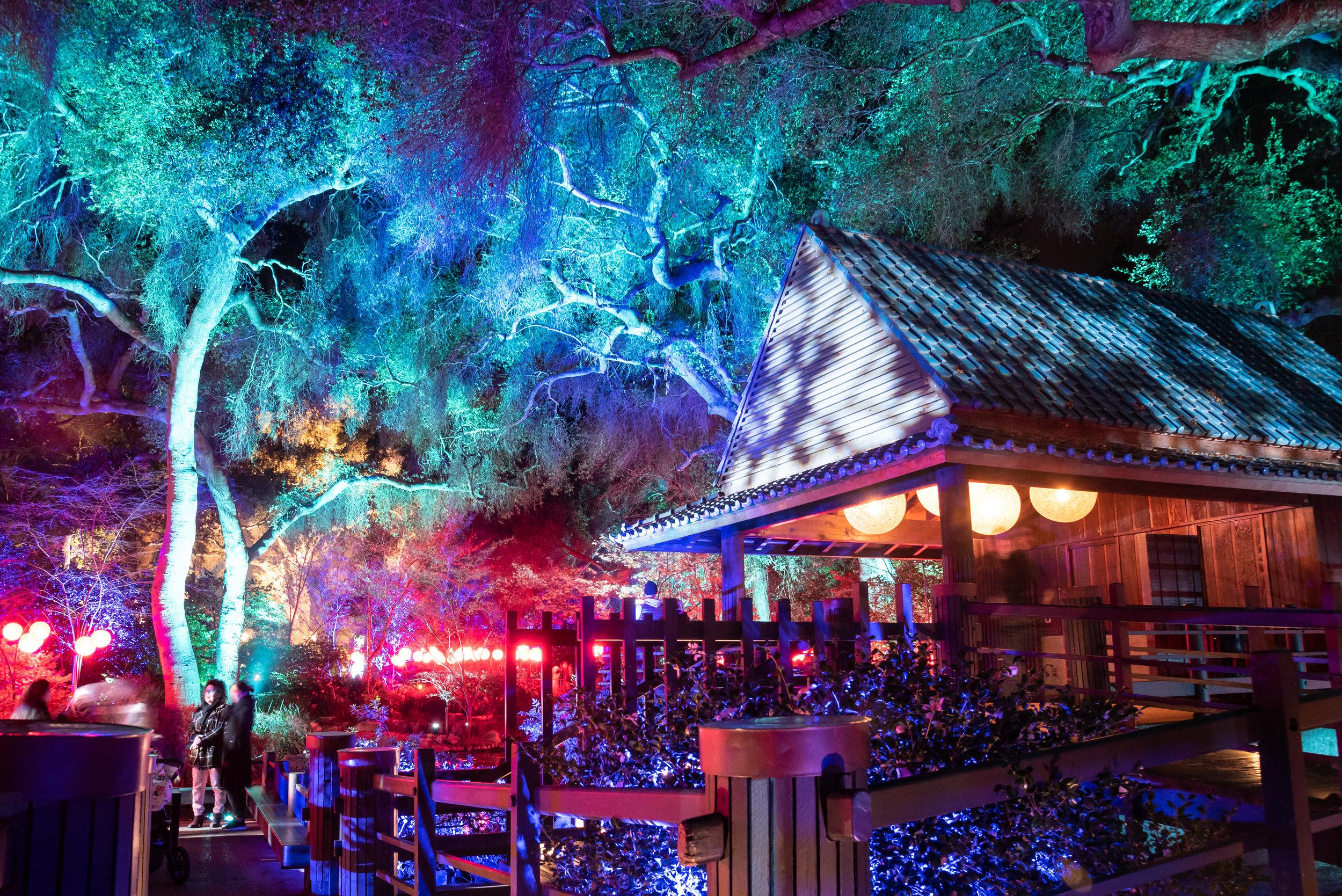 Tea House Descanso Gardens, La Canada, CA