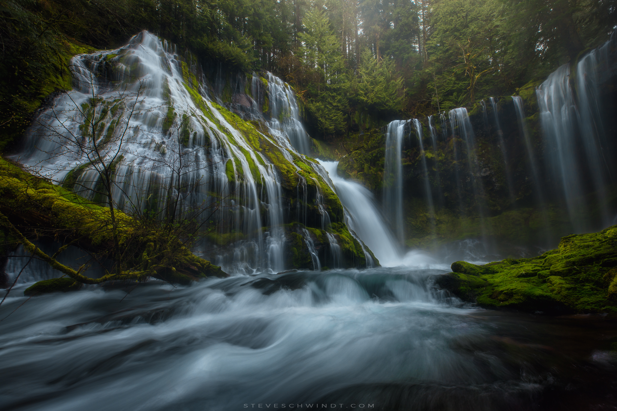 Panther Creek Falls, Washington (Early Spring, 2017)