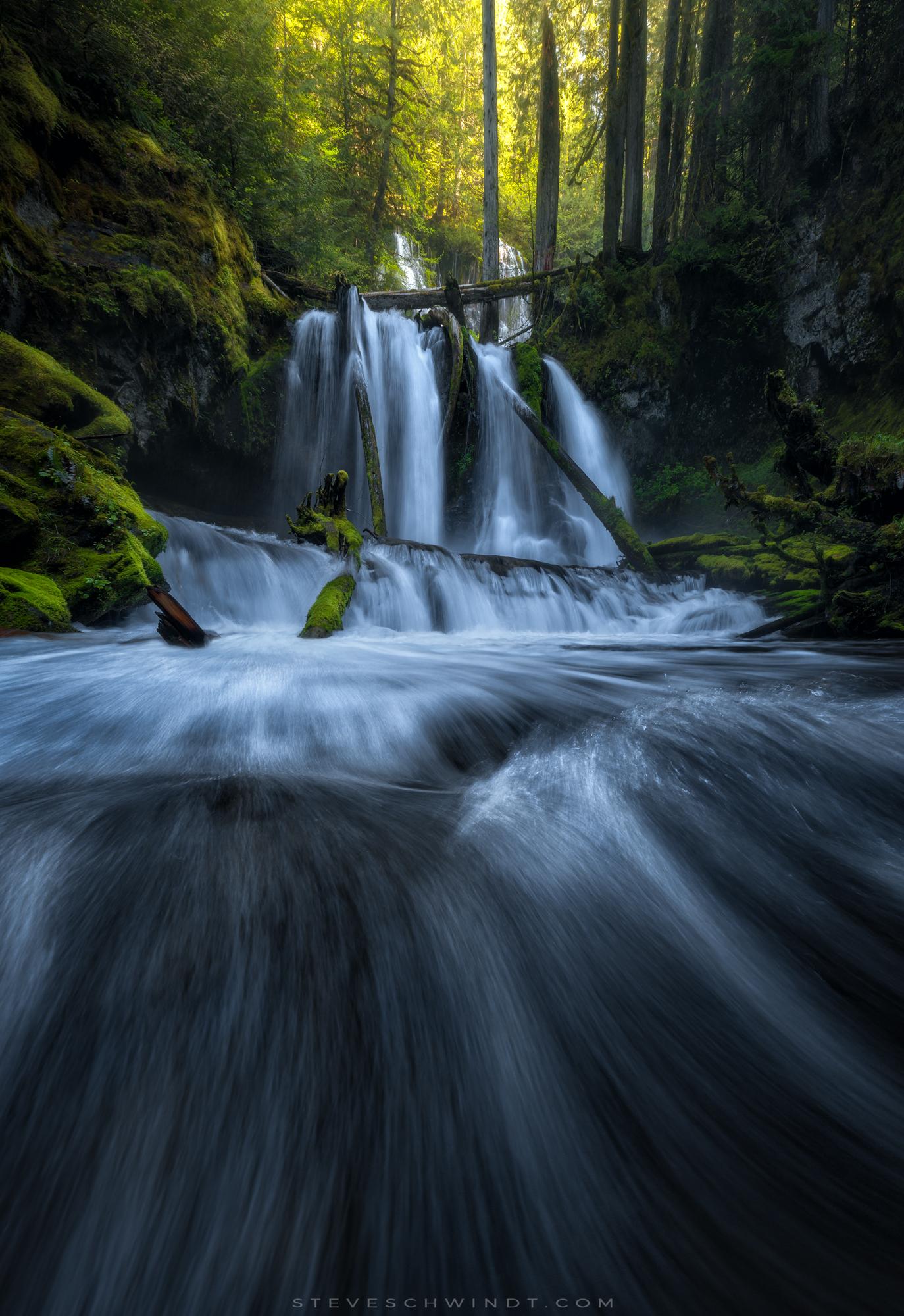 Lower Panther Creek Falls, Washington (Spring, 2017)