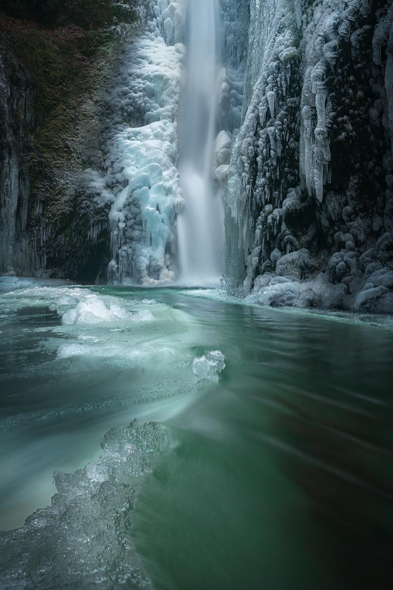 Oneonta Falls, Oregon (Winter, 2016-17)