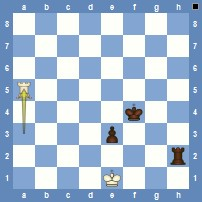 Philidor Position   (White to draw)