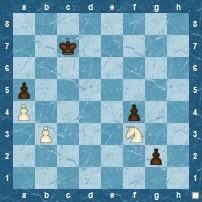 Pawn Blockading Knights