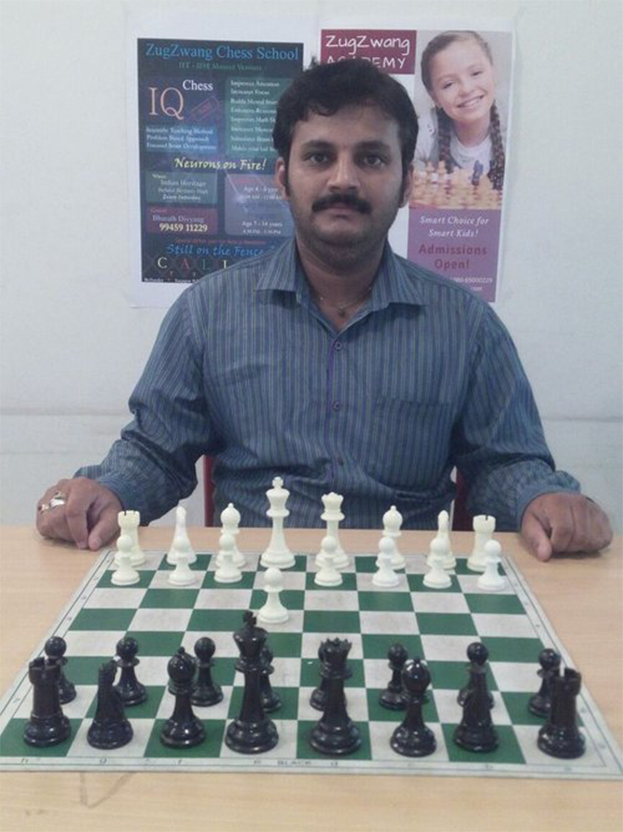 Name: Vinayak Kumar Coach Level:  Level B Target Students: Beginner   Experience: 2+ years   Availability: No