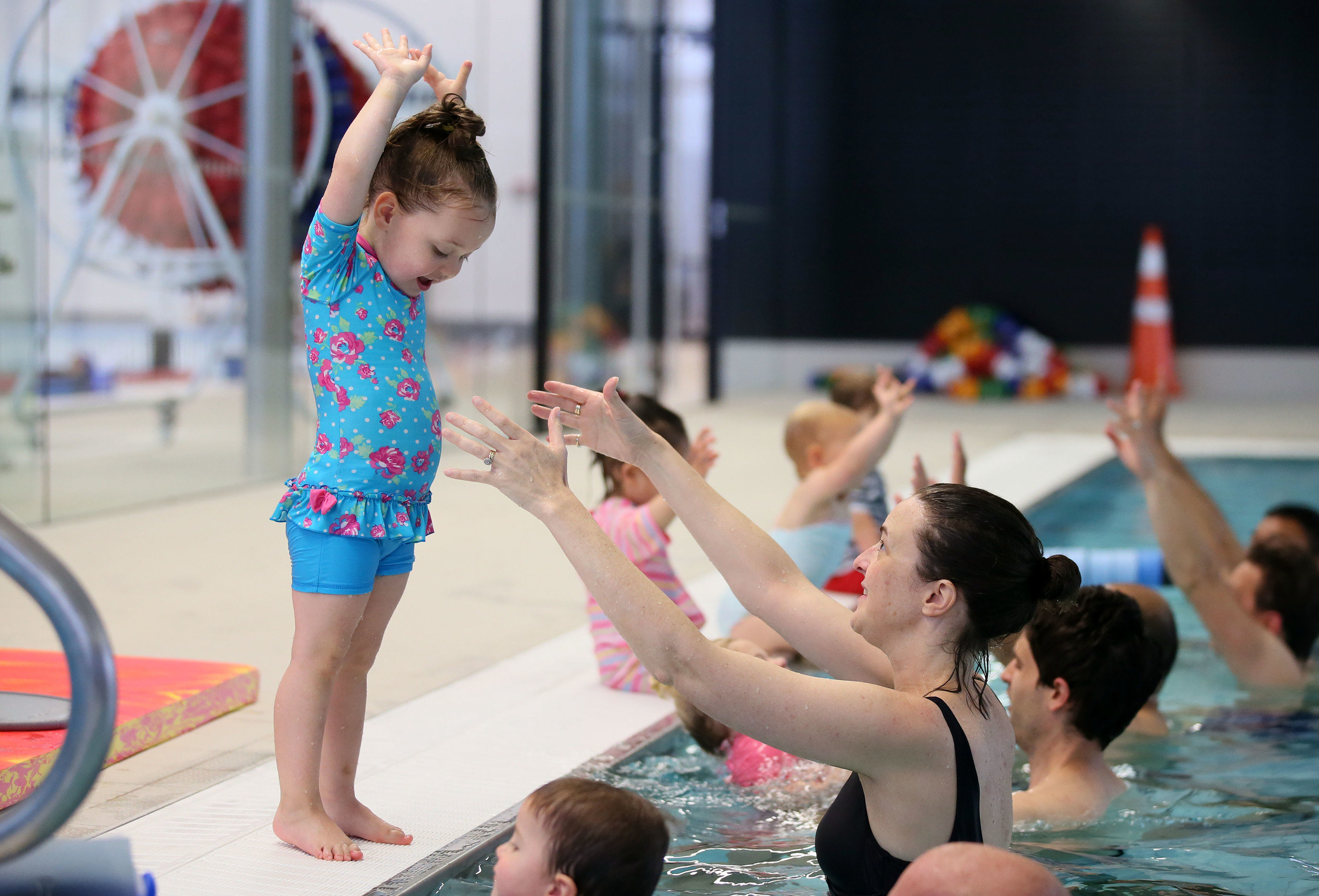 """Highly recommend! Excellent staff and facilities. I've been very impressed. My daughter and I are both loving her swim lesson."""