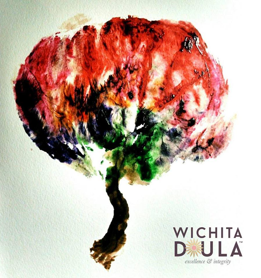 Wichita Doula - Placenta Print