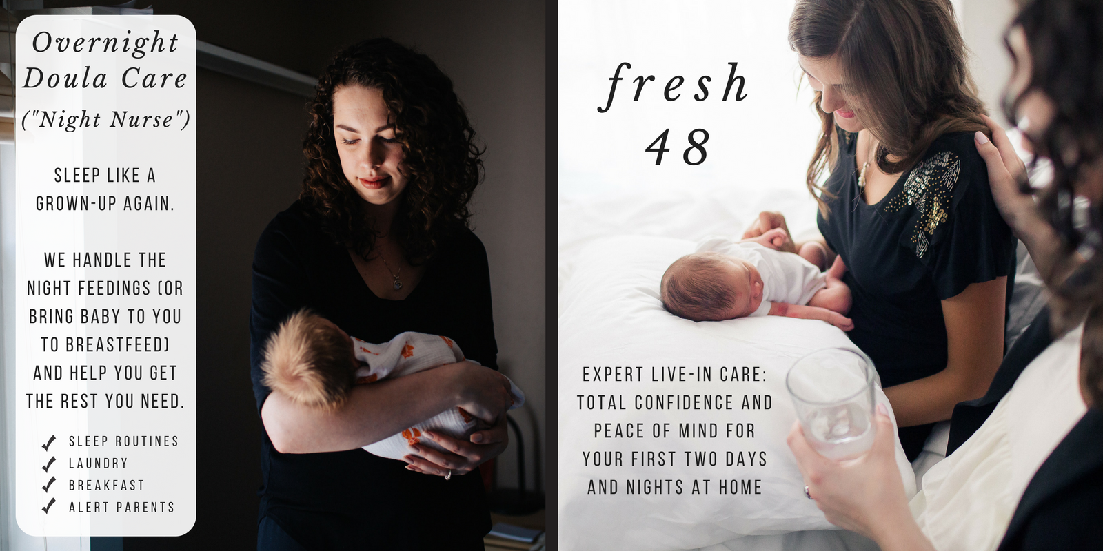 Overnight Doula Care/Best Night Nurses in Wichita! *Night nurse or night nanny is a common term for a night doula. Please note that unless specifically mentioned, doulas are nonmedical support persons and are not necessarily registered nurses.