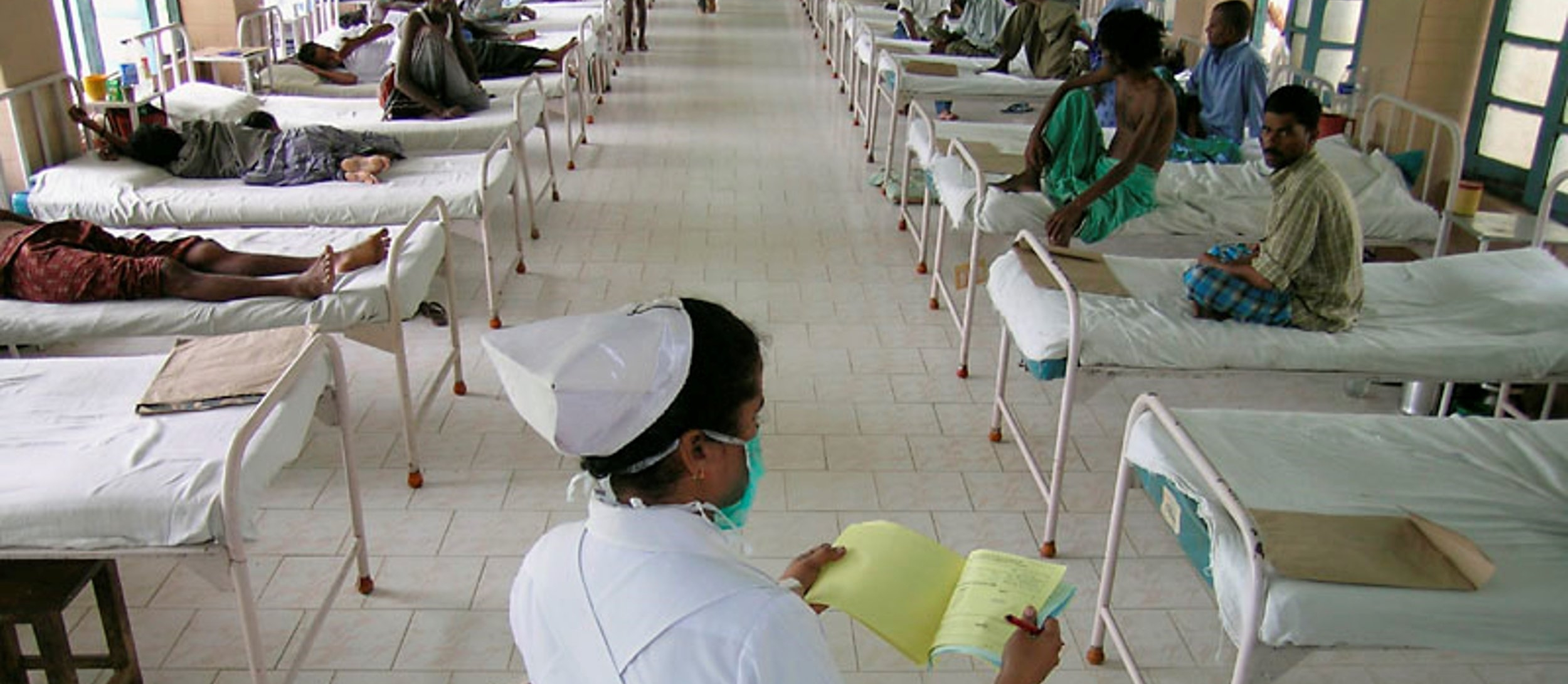 Hospital in India (photo from Natural Resources Defense Council)
