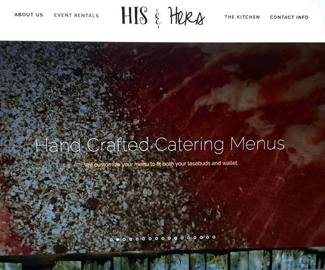 Check out the website to create your own menu for your next wedding or special event . #hisandherskitchen #hisandhersrentals #rusticwedding #wedding #mouthwatering #america #americanmade #theknot #dinner #weddingrentals #smallbusiness #dreamwedding #catering #kitchen #meat #beef #bride #groom #amazing #website #farmtotable