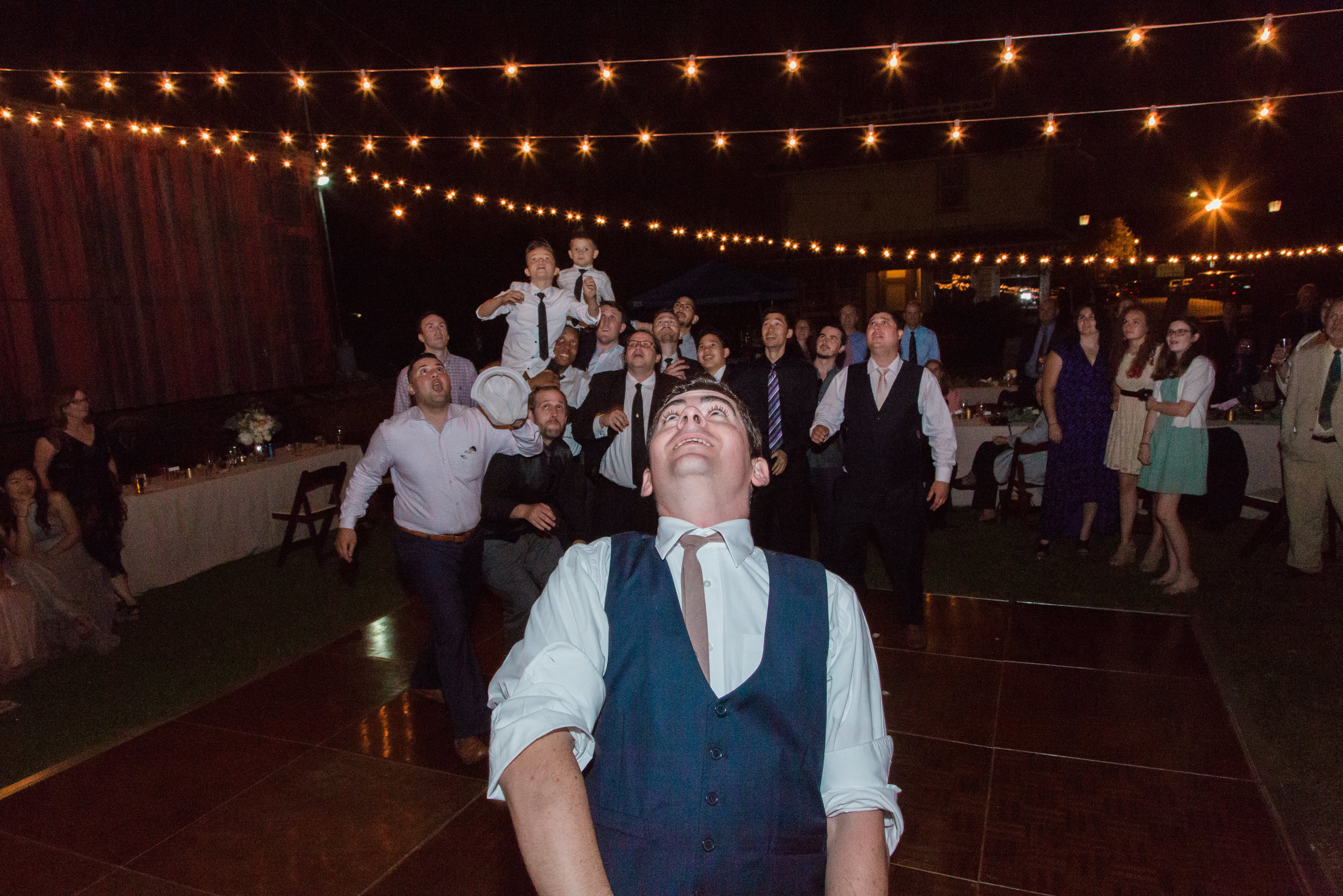 wedding lights in LA