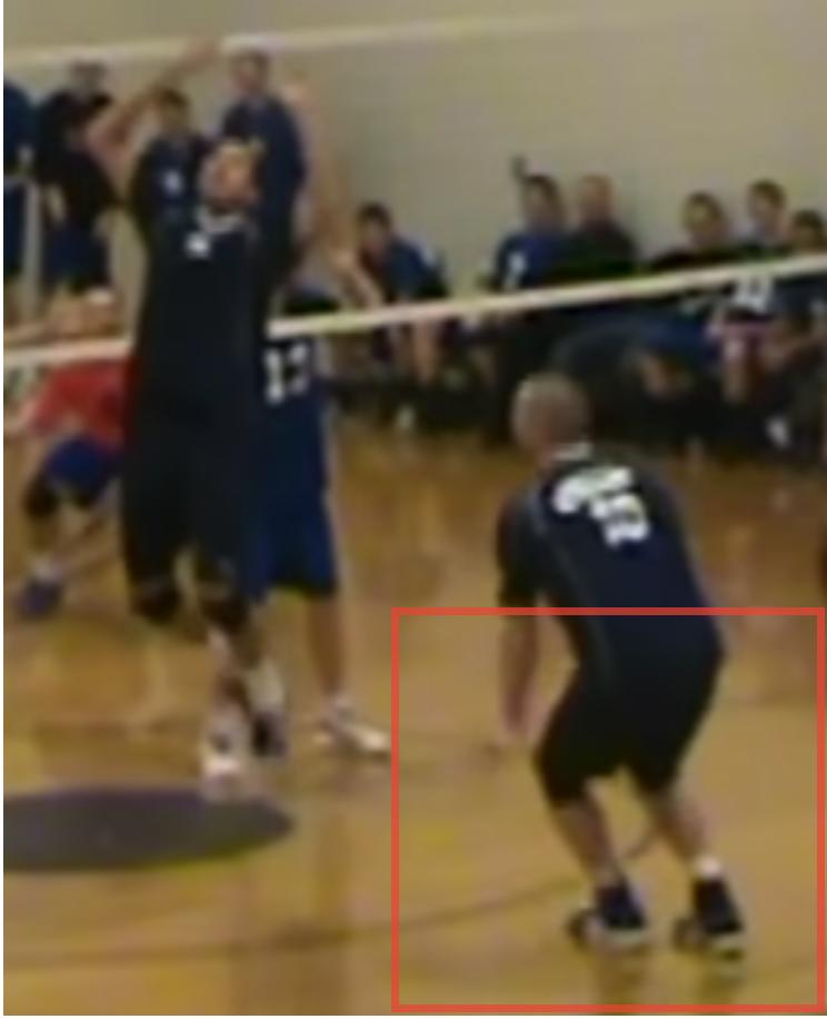 Austin Einhorn Displaying Broad Jump Footwork