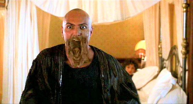 Imhotep is mad that Fraser won't be returning