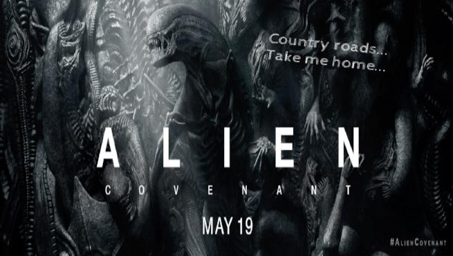 Alien: Covenant uses john denver's