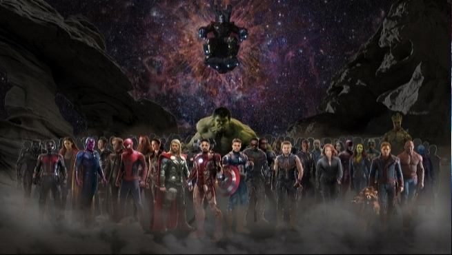 Well over 20 marvel characters will appear in avengers: Infinity War. - Russo Brothers hope such an overwhelming cast will make people forget how dumb this movie's title is. If not, at least it will help them forget how dumb the plot will be.