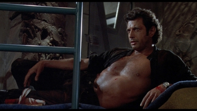 Jeff goldblum will appear in jurassic world sequel. - The question everyone is asking: will his reclined, exposed torso make a cameo?