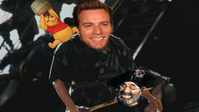 ewan mcgregor's christopher robin will be adult businessman who has lost sense of imagination and wonder. - Just call it Hook 2 and stop acting like we're fucking stupid.
