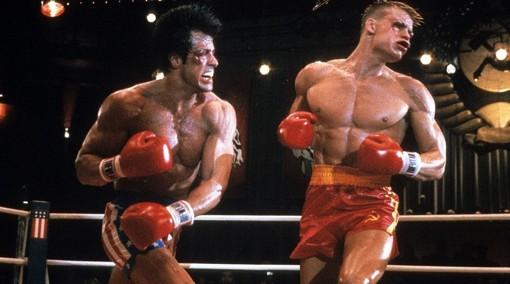 in rocky 4 was the russian on steroids