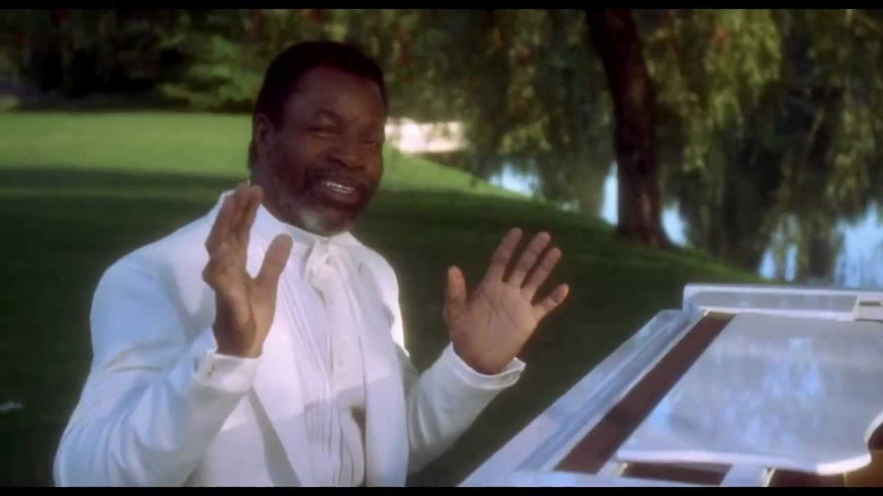 "Apollo Creed on piano in Happy Gilmore's ""Happy Place"""