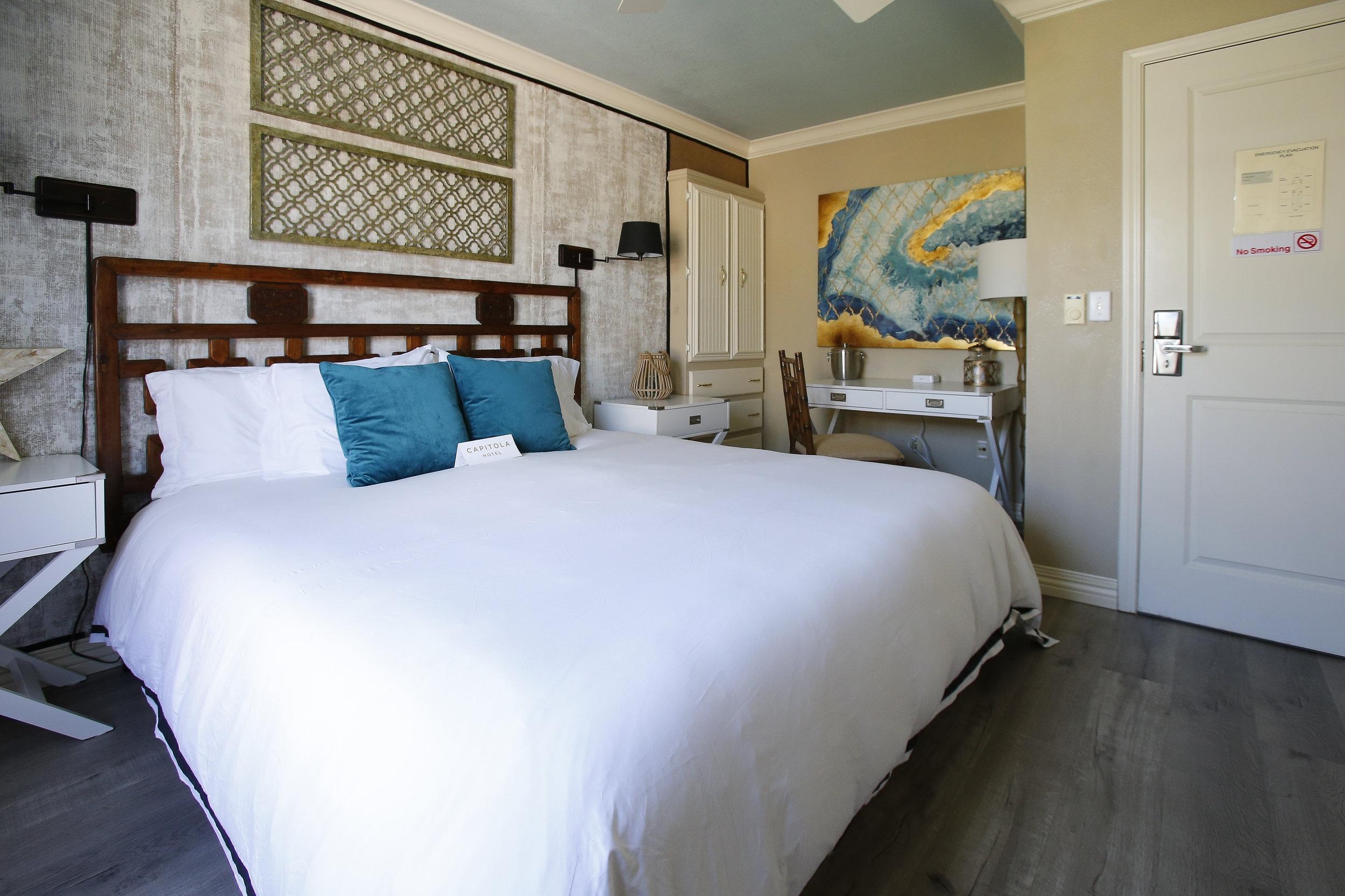 bonaire hotel room in capitola, ca
