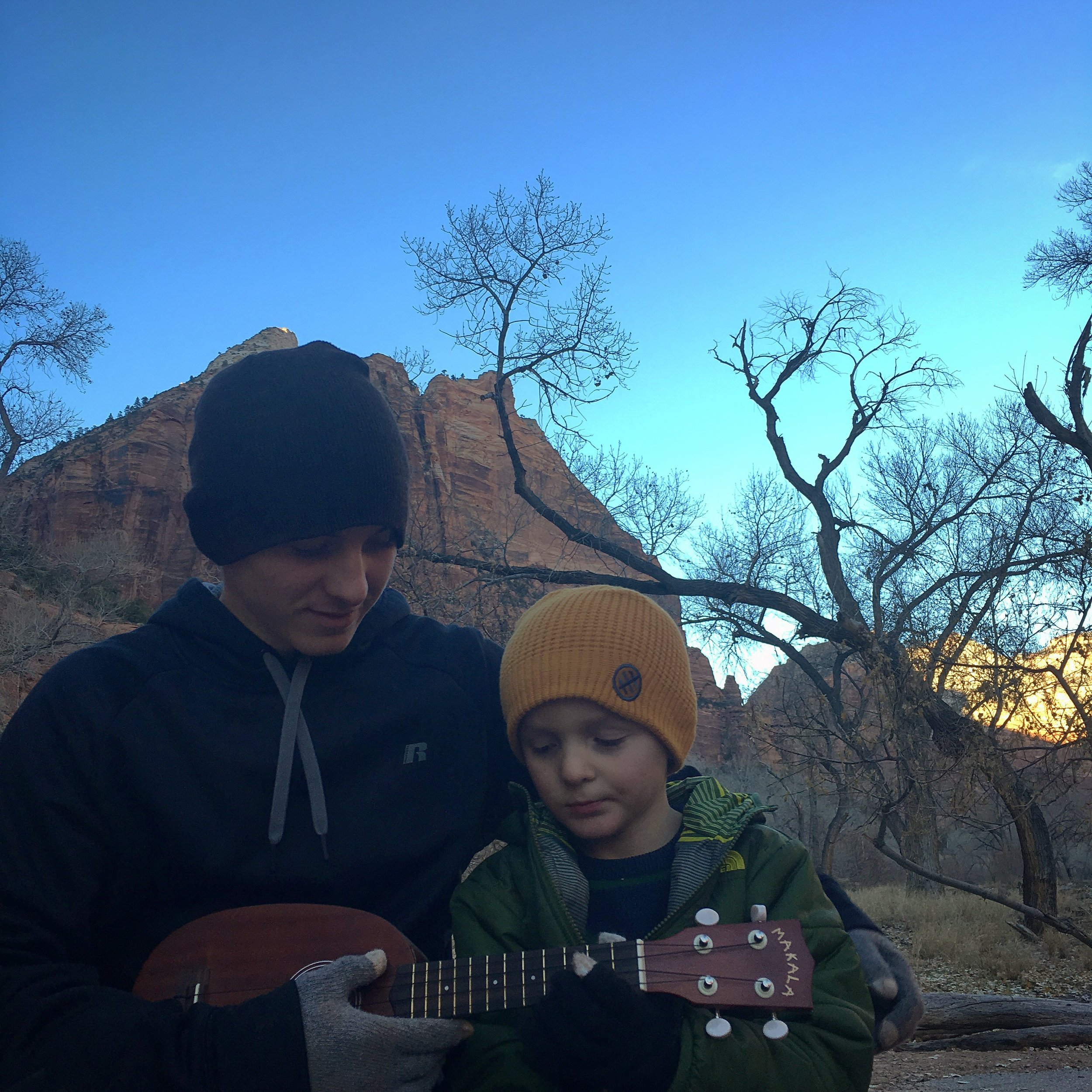 An outdoor - upbringing
