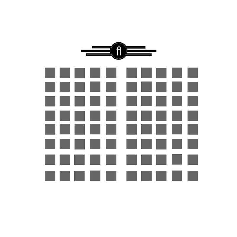 Theatre Style layout can seat up to 200